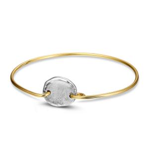 Armband 406 SG Zilver/ Goud