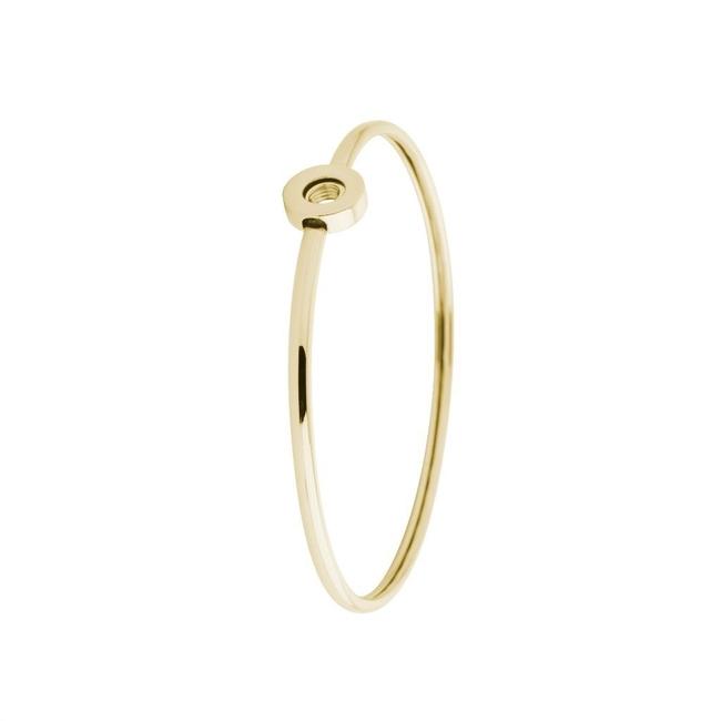 vivid viv armband goudkleurig