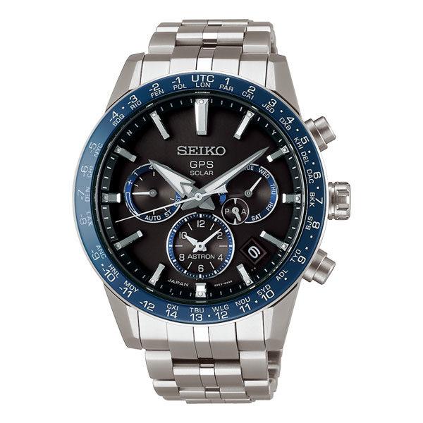 Heren horloge uit de Seiko Astron collectie - HIGH SPEED TIME ZONE ADJUSTMENT Het nieuwe 5X kaliber biedt een aantal nieuwe en handige features die perfect zijn afgestemd op de frequente reiziger. Het Astron 5X horloge kan onder andere, met een druk op de knop, zich binnen 3 seconden overal ter wereld op de juiste lokale tijd zetten - uitgevoerd met een titanium kast en band - voorzien van een GPS Solar uurwerk met Chronograph functie - waterdicht tot 100 meter - De Seiko Astron collectie is verkrijgbaar bij Sparnaaij Juweliers in Aalsmeer