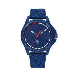 Tommy Hilfiger herenhorloge - Horloge met blauwe rvs band en blauwe wijzerplaat- Te koop bij Sparnaaij Juweliers in Aalsmeer