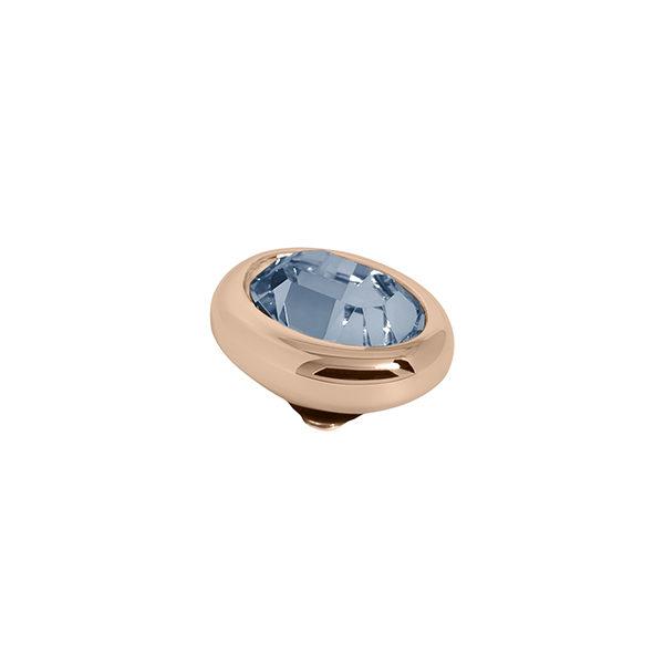 Melano Twisted oval swarovski denim blue 10mm- Te koop bij Sparnaaij Juweliers in Aalsmeer en Hoofddorp