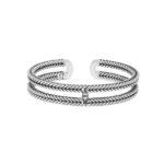 Buddha to Buddha Barbarba link cuff silver - Sparnaaij Juweliers