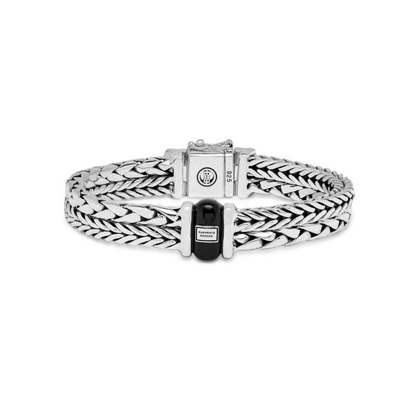 Buddha to Buddha Bracelet Barbara & George Onyx - Te koop bij Sparnaaij juweliers in Aalsmeer en Hoofddorp