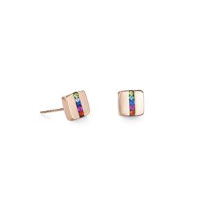 Coeur de Lion oorknoppen - multicolour - Te koop bij Sparnaaij Juweliers in Hoofddorp