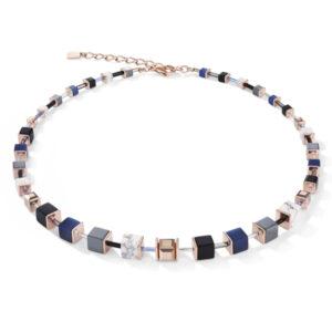 Coeur de Lion collier - rosekleurig met grijs - Te koop bij Sparnaaij Juweliers in Aalsmeer