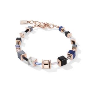 Coeur de Lion armband - Grijs blauw hematiet en howliet - Te koop bij Sparnaaij Juweliers in Hoofddorp