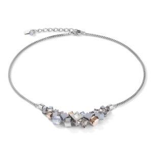 Coeur de Lion - collier staal met hematiet - Te koop bij Sparnaaij Juweliers in Hoofddorp