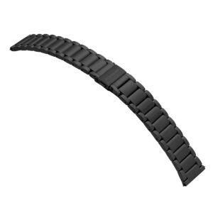 Samsung Active2 smartwatch SA.R820BS - Staal - Schakelband - Zwart - Losse band verkrijgbaar