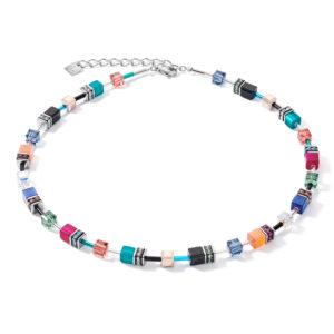 Coeur de Lion collier - multicolour met synthetisch kristal - Te koop bij Sparnaaij Juweliers in Hoofddorp