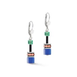 Coeur de Lion oorhangers - multicolour en synthetisch kristal - Te koop bij Sparnaaij Juweliers in Hoofddorp