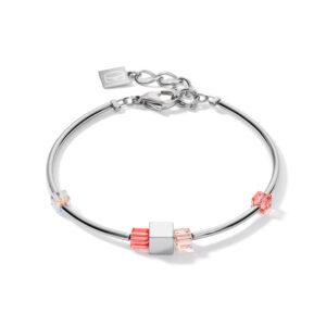 Coeur de Lion armband - Hematiet en swarovski crystal - te koop bij Sparnaaij Juweliers in Hoofddorp